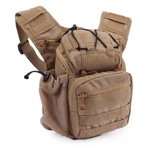 Buy Online  Waist Packs Tactical Military Molle Shoulder Bag / Outdoor Sports Camping Hiking Multifunctional Camera Bag Bags & Backpacks - MEGA Discount Online Store Ghana
