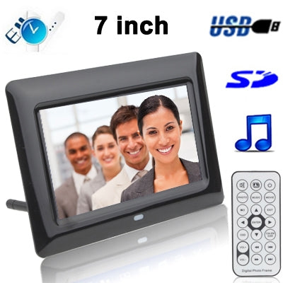 7 inch Digital Picture Frame with Remote Control Support SD / MMC / MS Card and USB (7005B) Camera - MEGA Discount Online Store Ghana