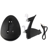 2 x USB Charging Dock Station Stand / Controller Charging Stand for PS4(Black) Play Station 4 Accessories - MEGA Discount Online Store Ghana