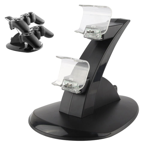 Buy Online  2 x USB Charging Dock Station Stand / Controller Charging Stand for PS4(Black) Play Station 4 Accessories - MEGA Discount Online Store Ghana