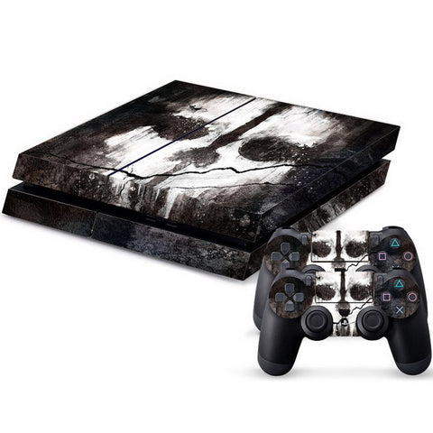 Buy Online  Skull Pattern Protective Skin Sticker Cover Skin Sticker for PS4 Game Console Play Station 4 Accessories - MEGA Discount Online Store Ghana