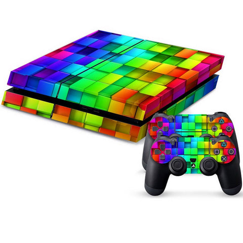 Buy Online  Tetris Pattern Protective Skin Sticker Cover Skin Sticker for PS4 Game Console Play Station 4 Accessories - MEGA Discount Online Store Ghana