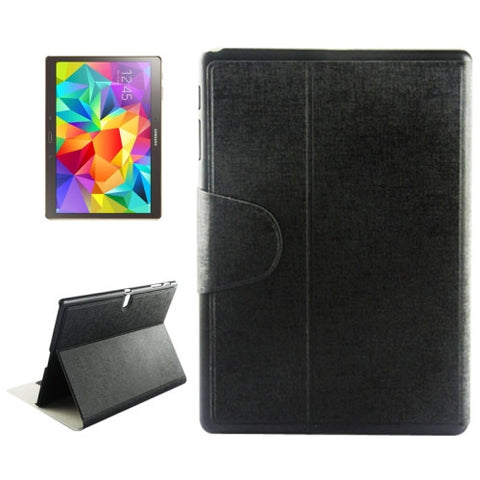Buy Online  Oracle Texture Horizontal Flip Leather Case with Holder & Card Slots for Samsung Galaxy Tab S 10.5 / T800(Black) Samsung Cases - MEGA Discount Online Store Ghana