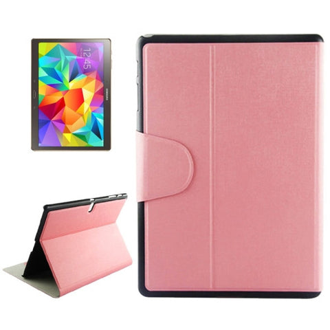 Buy Online  Oracle Texture Horizontal Flip Leather Case with Holder & Card Slots for Samsung Galaxy Tab S 10.5 / T800(Pink) Samsung Cases - MEGA Discount Online Store Ghana
