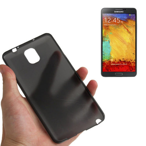 Buy Online  0.3mm Ultra Thin Polycarbonate Materials PC Protection Cover for Samsung Galaxy Note III / N9000(Black) Samsung Cases - MEGA Discount Online Store Ghana