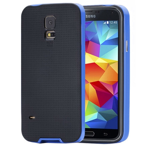 Buy Online  Neo Hybrid Series TPU + Polycarbonate Combination Cover for Samsung Galaxy S5 / G900 (Blue) Samsung Cases - MEGA Discount Online Store Ghana