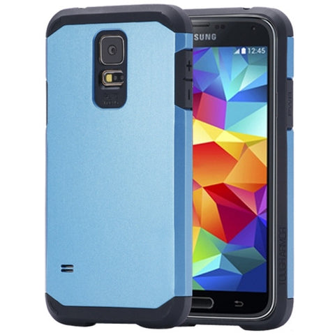 Tough Armor Mesh Plastic + TPU Combination Cover for Samsung Galaxy S5 / G900 (Blue) Samsung Cases - MEGA Discount Online Store Ghana