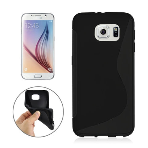 Buy Online  Samsung Galaxy S6 / G920 S Line Anti-slip Frosted TPU Protective Case (Black) Samsung Cases - MEGA Discount Online Store Ghana