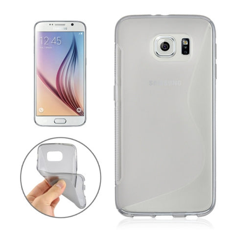 Buy Online  Samsung Galaxy S6 / G920 S Line Anti-slip Frosted TPU Protective Case (Grey) Samsung Cases - MEGA Discount Online Store Ghana
