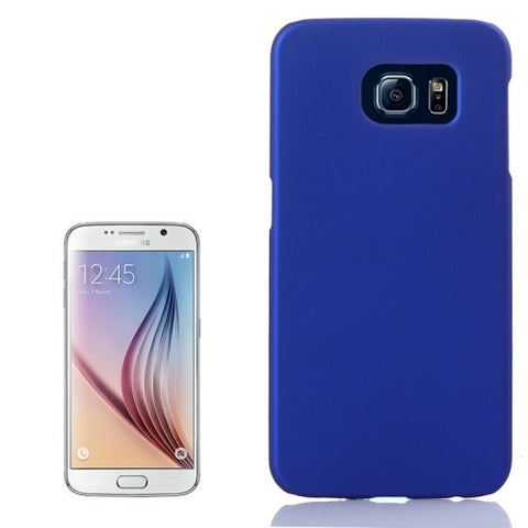 Pure Colour UV Anti-scratch PC Protective Cover for Samsung Galaxy S6 / G920(Dark Blue) Samsung Cases - MEGA Discount Online Store Ghana