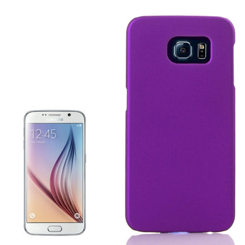 Buy Online  Pure Colour UV Anti-scratch PC Protective Cover for Samsung Galaxy S6 / G920(Purple) Samsung Cases - MEGA Discount Online Store Ghana