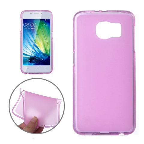 Translucent Frosted TPU Cover for Samsung Galaxy S6(Magenta) Samsung Cases - MEGA Discount Online Store Ghana