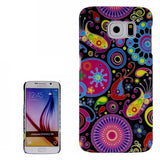 Colorful Abstract Pattern Plastic Cover for Samsung Galaxy S6 / G920 Samsung Cases - MEGA Discount Online Store Ghana