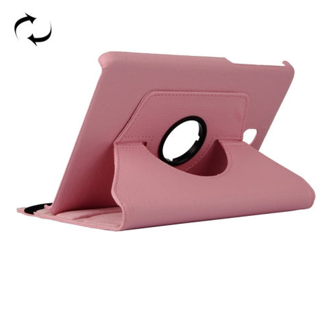 Buy Online  Litchi Texture 360 Degree Rotating Leather Case with Holder for Samsung Galaxy T350(Pink) Samsung Cases - MEGA Discount Online Store Ghana