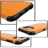 Buy Online  Samsung Galaxy S6 / G920 TPU + PC Combination Case (Orange) Samsung Cases - MEGA Discount Online Store Ghana