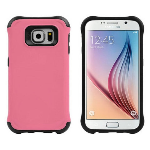 Buy Online  Samsung Galaxy S6 / G920 TPU + PC Combination Case (Pink) Samsung Cases - MEGA Discount Online Store Ghana