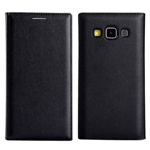 Litchi Texture Horizontal Flip Leather Case with Card Slots for Samsung Galaxy A3 / A300(Black) Samsung Cases - MEGA Discount Online Store Ghana