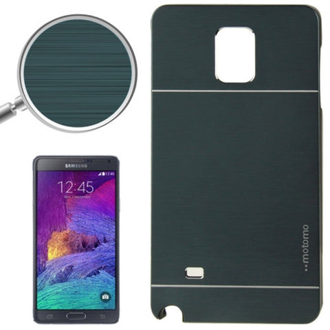 2 in 1 Brushed Texture Metal & Plastic Protective Cover for Samsung Galaxy Note 4 / N910 (Deep Green) Samsung Cases - MEGA Discount Online Store Ghana