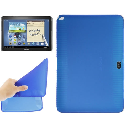 Transparent TPU Cover for Samsung Galaxy Note (10.1) / N8000 / N8010 (Blue) Samsung Cases - MEGA Discount Online Store Ghana