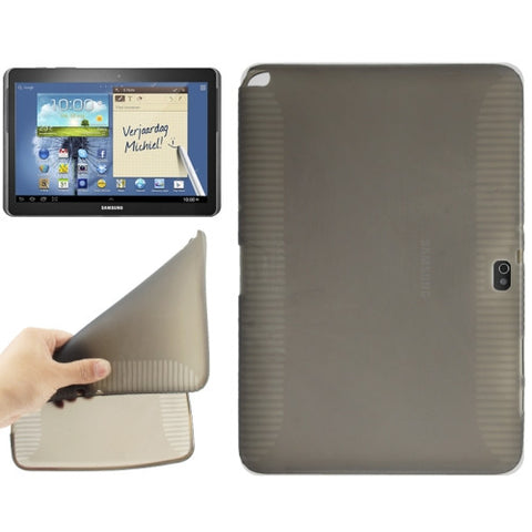 Transparent TPU Cover for Samsung Galaxy Note (10.1) / N8000 / N8010 (Grey) Samsung Cases - MEGA Discount Online Store Ghana