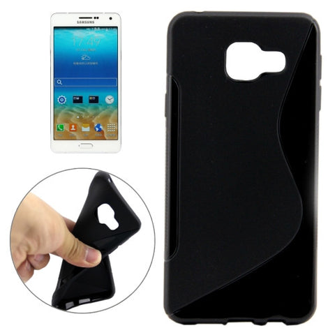 Buy Online  Samsung Galaxy A7(2016) / A710 Ultrathin S-Shaped Soft TPU Protective Cover Case (Black) Samsung Cases - MEGA Discount Online Store Ghana