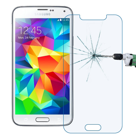 Buy Online  LOPURS 0.30mm 9H+ Surface Hardness 2.5D Explosion-proof Anti Blue-ray Tempered Glass Film for Samsung Galaxy S5 / G900 Screen Protectors - MEGA Discount Online Store Ghana