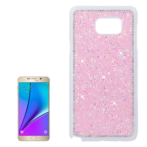 Buy Online  Samsung Galaxy Note 5 / N920 Fashionable Electroplating Diamond Encrusted Hard Case (Pink) Samsung Cases - MEGA Discount Online Store Ghana