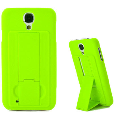 Pure Color Hard Plastic Cover with Holder for Samsung Galaxy S IV / i9500(Green) Samsung Cases - MEGA Discount Online Store Ghana