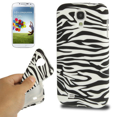 Buy Online  Zebra Texture Pattern TPU Cover for Samsung Galaxy S IV / i9500 Samsung Cases - MEGA Discount Online Store Ghana