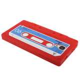Buy Online  Tape Pattern Silicone Cocer for Samsung Galaxy S IV / i9500 (Red) Samsung Cases - MEGA Discount Online Store Ghana