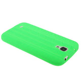 Pure Color Tyre Texture Silicone Cover for Samsung Galaxy S IV / i9500(Green) Samsung Cases - MEGA Discount Online Store Ghana