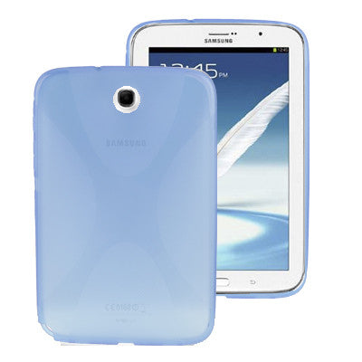 Buy Online  X Shape TPU Cover for Samsung Galaxy Note 8.0 (Blue) Samsung Cases - MEGA Discount Online Store Ghana