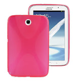 Buy Online  X Shape TPU Cover for Samsung Galaxy Note 8.0 (Magenta) Samsung Cases - MEGA Discount Online Store Ghana