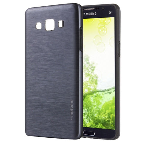 Samsung Galaxy A5 / A500 MOTOMO Brushed Texture Metal + TPU Protective Case (Grey) Samsung Cases - MEGA Discount Online Store Ghana