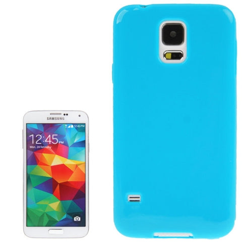 Smooth Surface TPU Protective Cover for Samsung Galaxy S5 / G900 (Blue) Samsung Cases - MEGA Discount Online Store Ghana