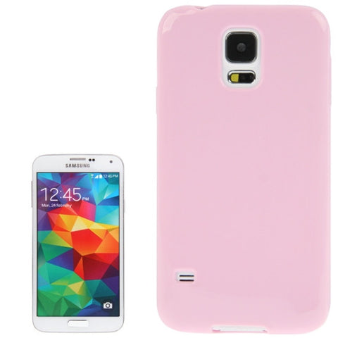Smooth Surface TPU Protective Cover for Samsung Galaxy S5 / G900 (Pink) Samsung Cases - MEGA Discount Online Store Ghana