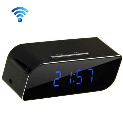 P2P Network Mini IP Camera H.264 HD 720P Wifi Clock Camera, Support Night Vision / Motion Detection(Black) Camera - MEGA Discount Online Store Ghana