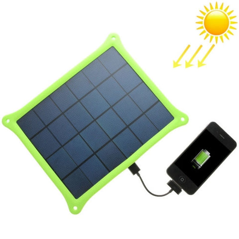 Buy Online  A5W 5W 5.0V/ 1A Solar Panel Charger(Green) Power Banks & Solar - MEGA Discount Online Store Ghana