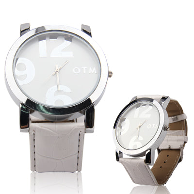 Digital Style Unisex Quartz Wrist Watch with Leather Band Strap for Girl Boy Watches - MEGA Discount Online Store Ghana