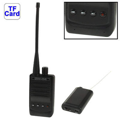 Buy Online  CW-04 Spy Micro Wireless Audio Transmitter Bug, Support TF Card, Voice Recording / Taking Audio Function, Transmission Distance: 500m Antenna & Booster - MEGA Discount Online Store Ghana