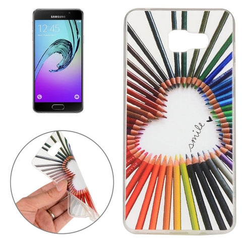 Buy Online  Samsung Galaxy A7 (2016) / A710 Color Pencil Pattern TPU Protective Case Samsung Cases - MEGA Discount Online Store Ghana