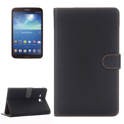 Samsung Galaxy Tab A 7.0 (2016) / T280 Antique Material Horizontal Flip Leather Case with Holder(Black) Samsung Cases - MEGA Discount Online Store Ghana