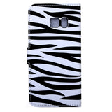 Samsung Galaxy S7 Active Zebra Pattern Leather Case with Holder & Card Slots & Wallet Samsung Cases - MEGA Discount Online Store Ghana