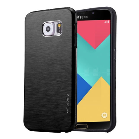 Buy Online  MOTOMO for Samsung Galaxy A9 (2016) / A900 Brushed Texture Metal + TPU Protective Case(Black) Samsung Cases - MEGA Discount Online Store Ghana