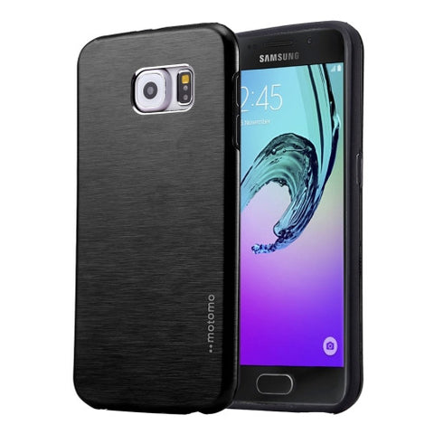Buy Online  MOTOMO for Samsung Galaxy A5 (2016) / A510 Brushed Texture Metal + TPU Protective Case(Black) Samsung Cases - MEGA Discount Online Store Ghana