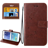 Buy Online  Samsung Galaxy J2 Crazy Horse Texture Printing Horizontal Flip Leather Case with Holder & Card Slots & Wallet & Lanyard(Coffee) Samsung Cases - MEGA Discount Online Store Ghana