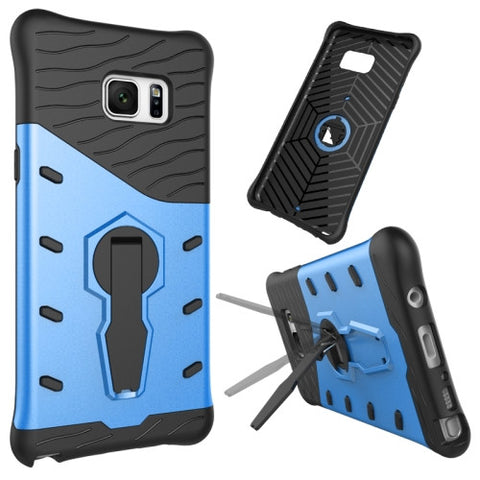 Buy Online  Samsung Galaxy Note 7 / N930 Shock-Resistant 360 Degree Spin Tough Armor TPU+PC Combination Case with Holder(Blue) Samsung Cases - MEGA Discount Online Store Ghana