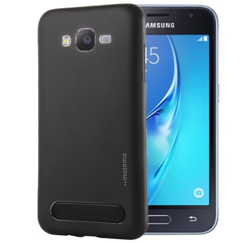 Buy Online  Samsung Galaxy J1 / J100 MOTOMO Armor Metal + TPU Protective Case (Black) Samsung Cases - MEGA Discount Online Store Ghana
