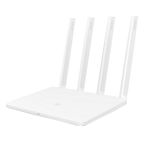Buy Online  Original Xiaomi Mi WiFi Wireless Router 3 128MB Flash Dual-Band 2.4GHz/5GHz with 4 Antennas and Exclusive MIWIFI APP, Support Web & Windows & Android & MacOS & iOS(White) Computer Accessories - MEGA Discount Online Store Ghana