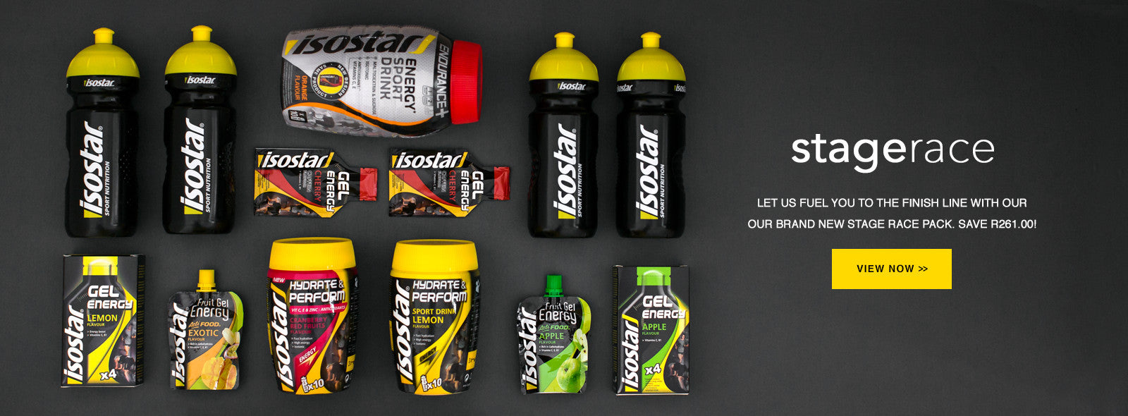 Isostar South Africa Stage Race Pack